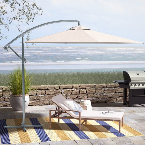 Muhammad Cantilever Umbrella By Beachcrest Home by Beachcrest Home Reviews
