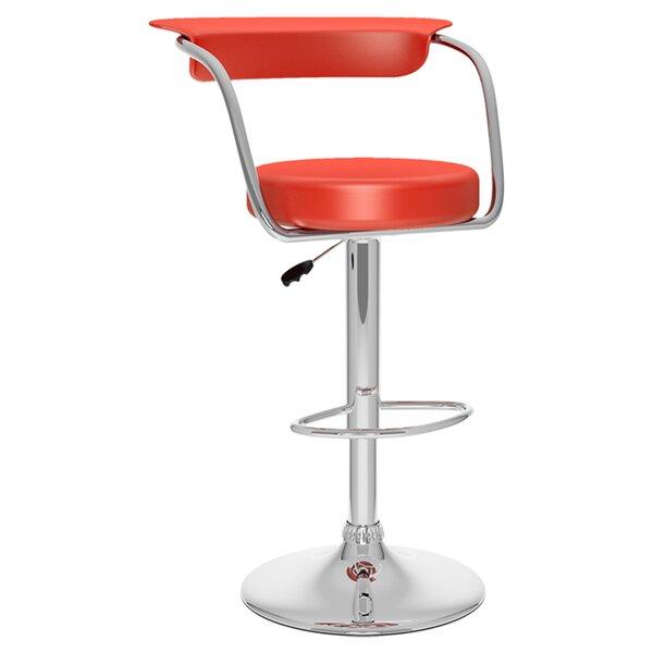 Adjustable Height Swivel Bar Stool (Set of 2) by dCOR design