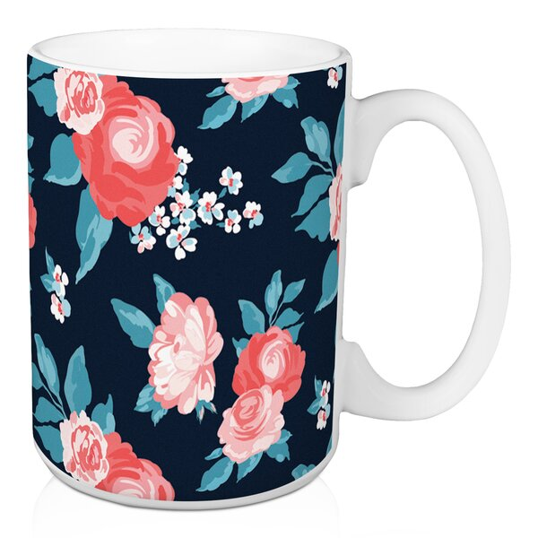 Damita Floral Coffee Mug by House of Hampton