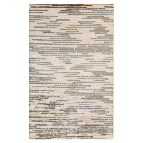 Barrera Parchment/Icicle Rug by Latitude Run