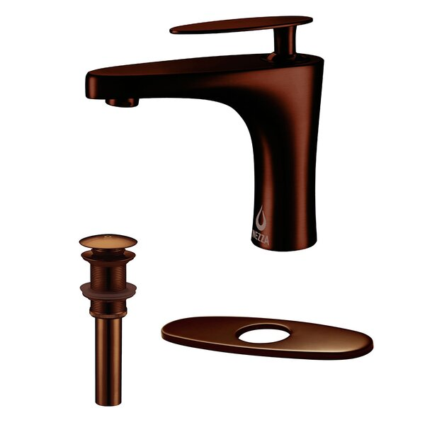 Cobra Bathroom Faucet, Pop-up Drain without Overflow and Deck Plate by Nezza