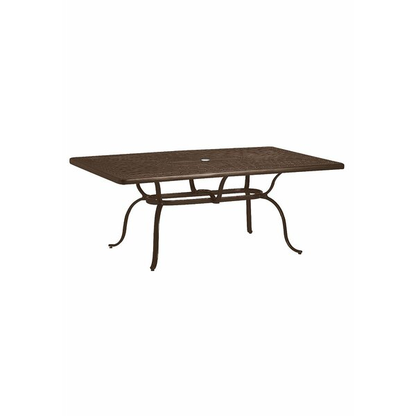 Banchetto Metal Coffee Table by Tropitone