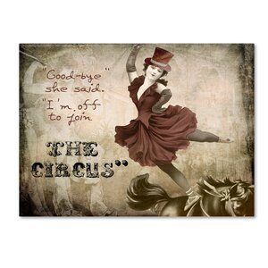 'Join the Circus' by Color Bakery Graphic Art on Wrapped Canvas by Trademark Fine Art
