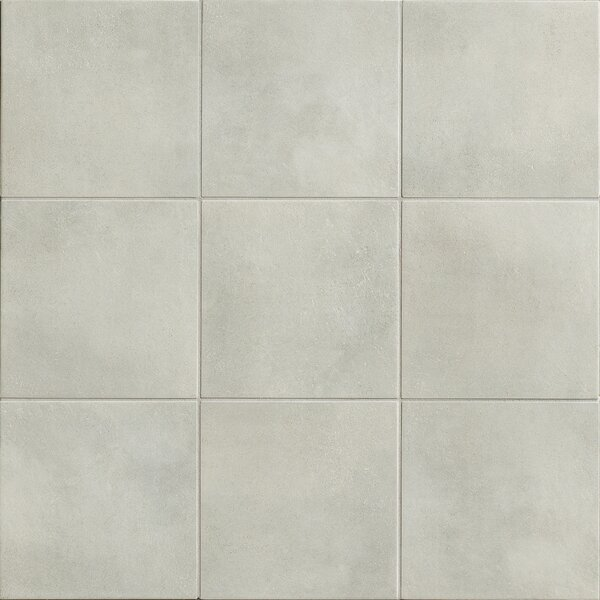 Poetic License 18 x 18 Porcelain Field Tile in Gray by PIXL