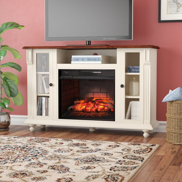 Sidney Electric 52 TV Stand with Fireplace by Darby Home Co