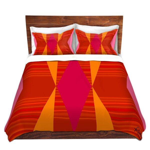 Orange and VI Duvet Cover Set
