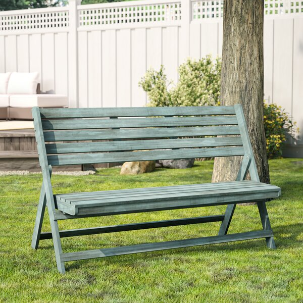 Mignardise Wooden Garden Bench by One Allium Way One Allium Way