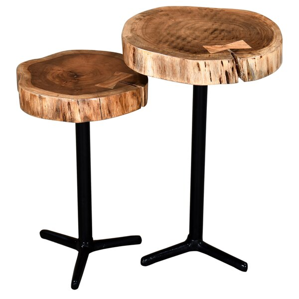 Hailee 2 Piece Accent Tables By Union Rustic