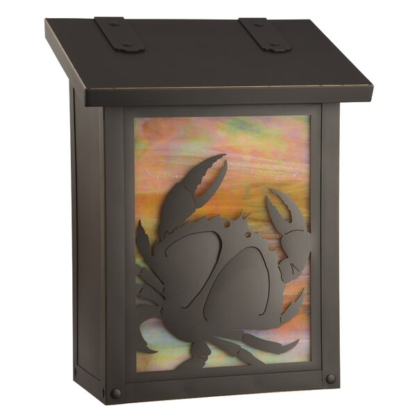 Coastal Cottage Wall Mounted Mailbox by America's Finest Lighting Company