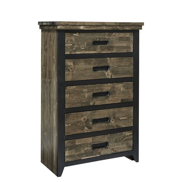 Boldt 5 Drawer Chest by Millwood Pines