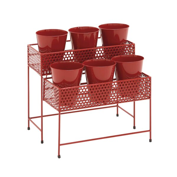Mackavelli 2-Tiered Plant Stand By Latitude Run