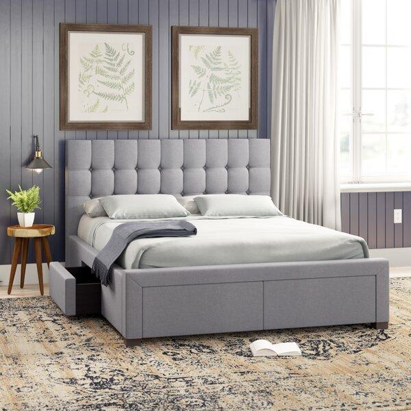 Morrilton Upholstered Storage Platform Bed by Three Posts