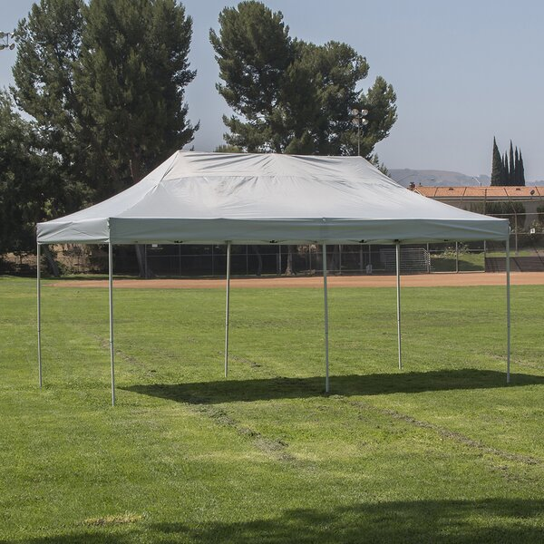 10 Ft. W x 20 Ft. D Steel Pop-Up Party Tent by Belleze