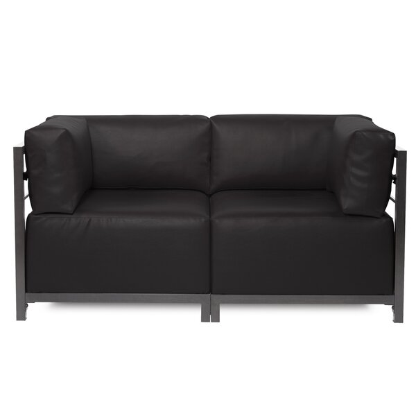 Woodsen Symmetrical Sectional Loveseat By Latitude Run