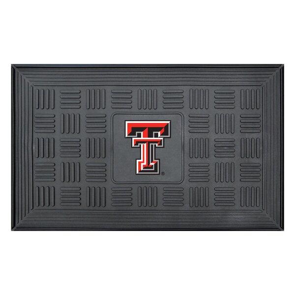 NCAA Texas Tech University Medallion Door Mat by FANMATS