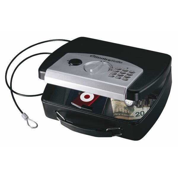Compact Electronic Safe by Sentry Safe
