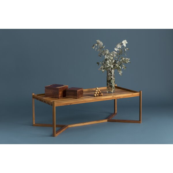 Olivia Cross leg Coffee Table by Ebb and Flow Furniture Ebb and Flow Furniture