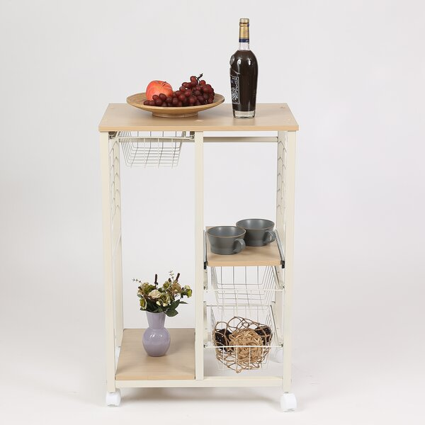 Colston Rolling Island Kitchen Cart By Winston Porter Design