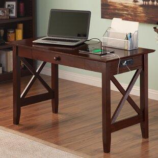 Dowdle Solid Wood Writing Desk