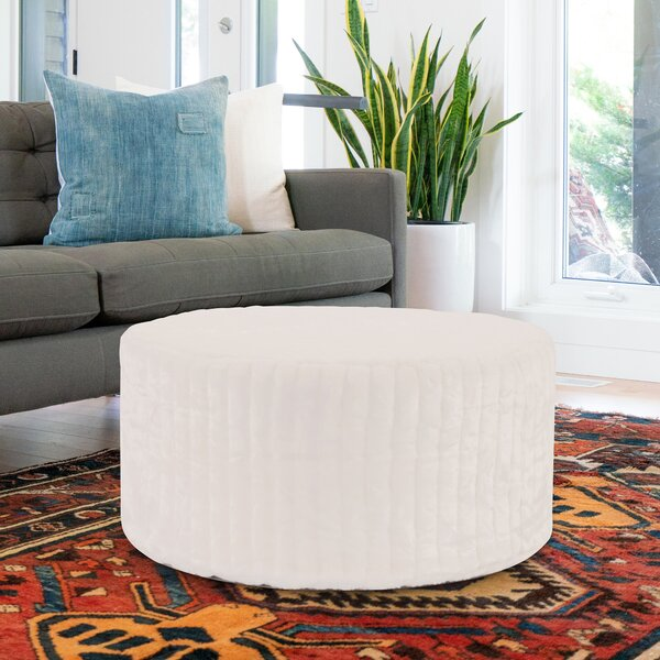 Bancroft Woods Pouf by Red Barrel Studio
