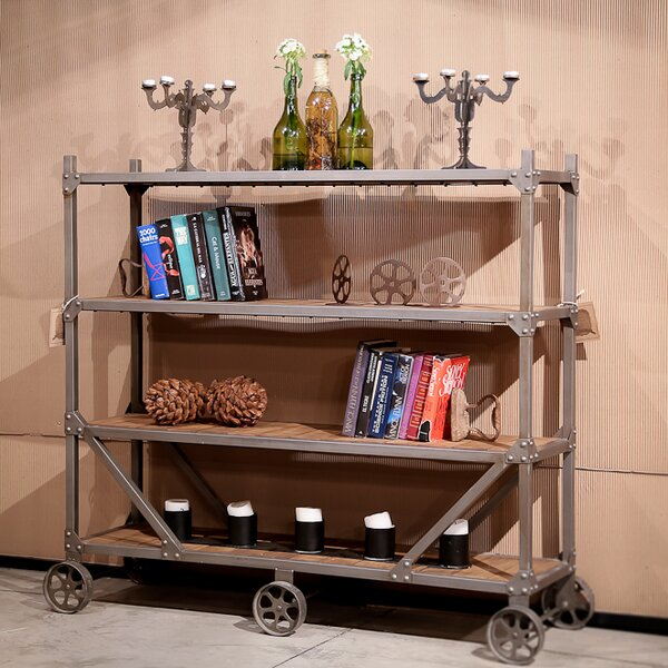 Stationary Bar Cart by REZ Furniture
