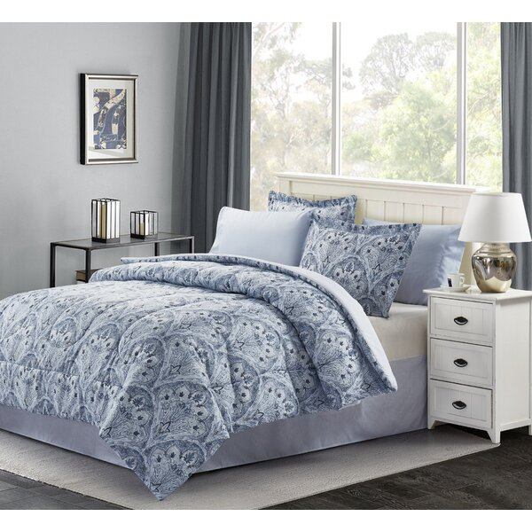 Blanding Reversible Comforter Set by Charlton Home