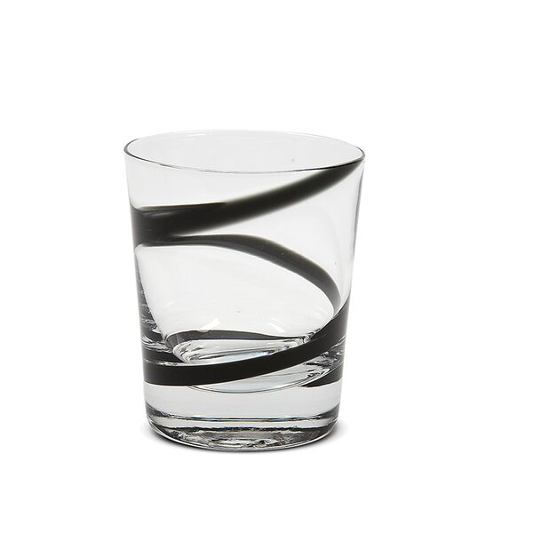 Eunice Crazy Rocks Short 10 oz. Glass Cocktail Glass (Set of 6) by Ebern Designs