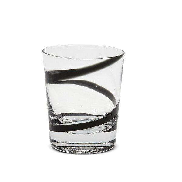 Eunice Crazy Rocks Short 10 oz. Glass Cocktail Glass (Set of 6) by Ebern Designs