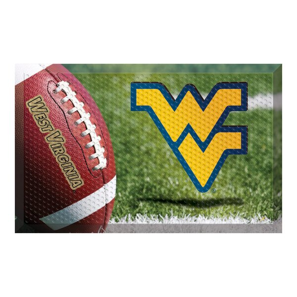 West Virginia University Doormat by FANMATS