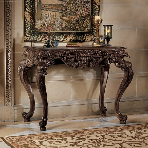 King Frederic Console Table By Design Toscano
