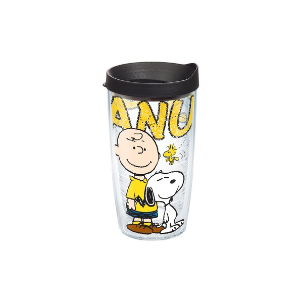 Peanuts Colossal 16 oz. Plastic Travel Tumbler by Tervis Tumbler