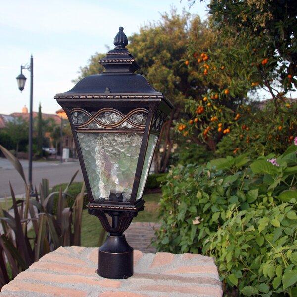 Jimenes Outdoor 1-Light Lantern Head by Fleur De Lis Living