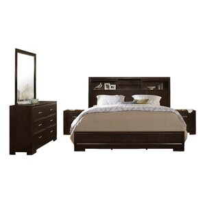 Bedroom Sets Espresso espresso queen bedroom sets you'll love | wayfair