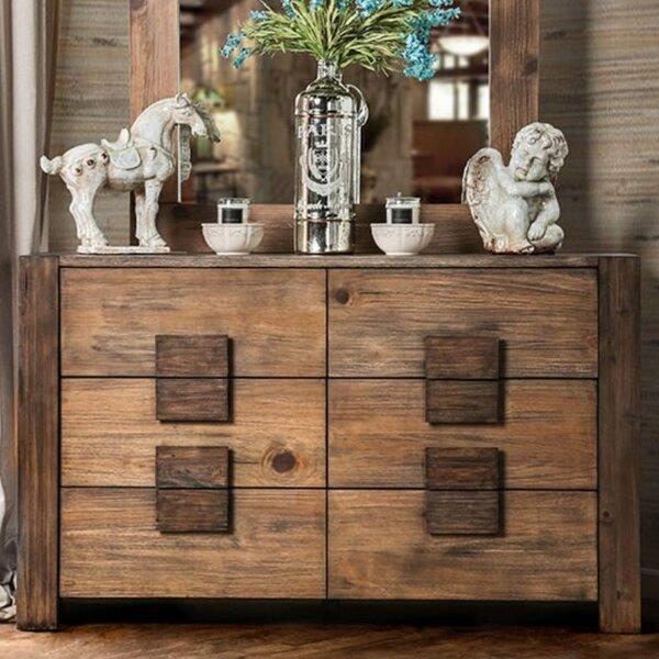 Kristin 6 Drawer Double Dresser by Bloomsbury Market