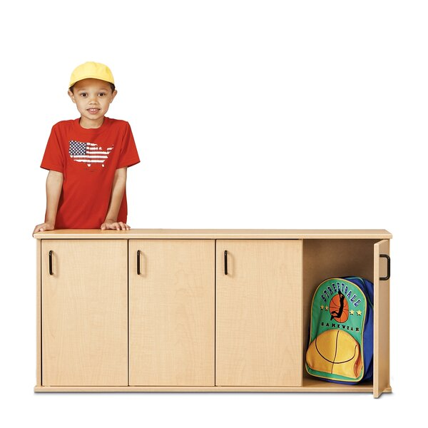 1 Tier 4 Wide Kids Locker by Young Time