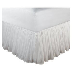 Amoncourt Voile Bed Skirt