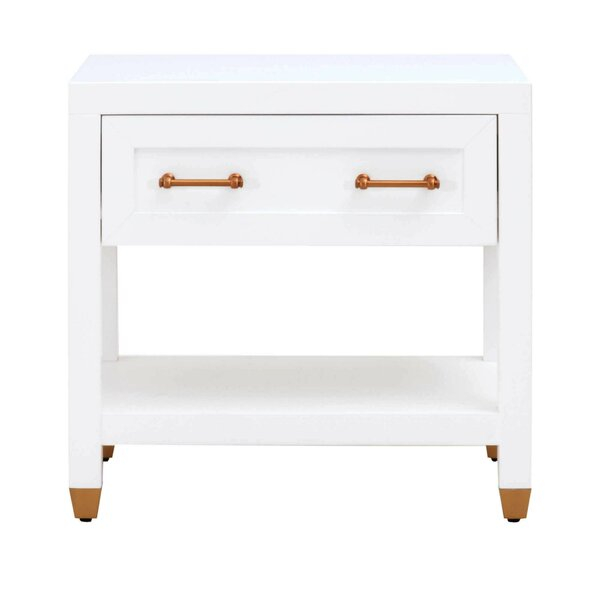 Fenella 1 Drawer Nightstand By Everly Quinn