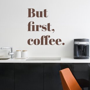 But First Coffee Wall Art | Wayfair