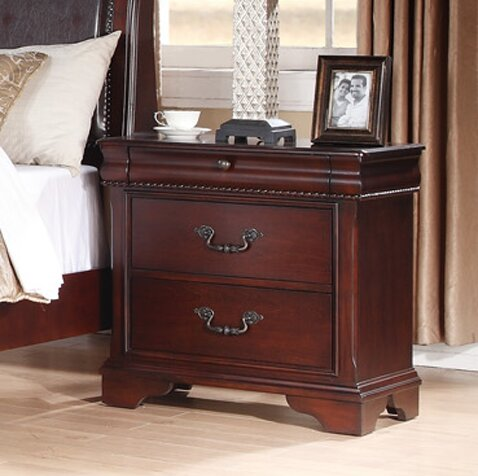 Liberty 2 Drawer Nightstand By Fairfax Home Collections