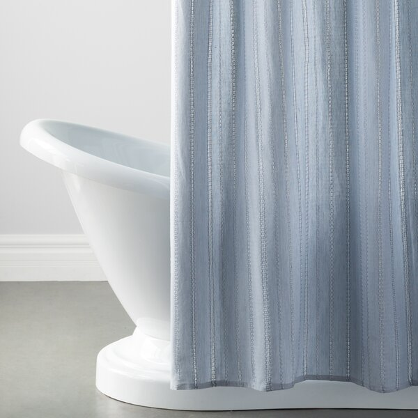 Metro Farmhouse Cotton Eyelet Chain Shower Curtain