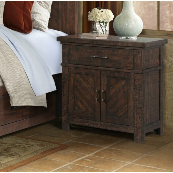 Hageman 1 Drawer Nightstand by Alcott Hill
