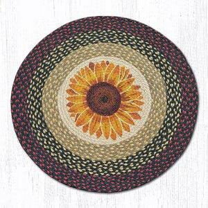 Sunflower Printed Area Rug