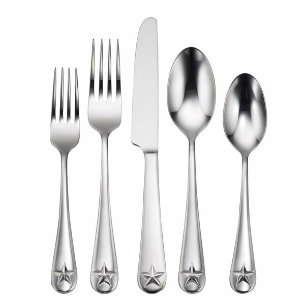 Tindra 45 Piece Flatware Set by Oneida