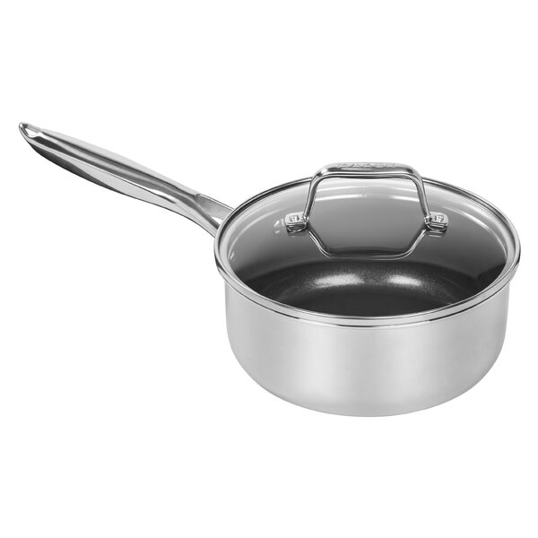 Aluminum Core Saucepan with Lid by MAKER Homeware™
