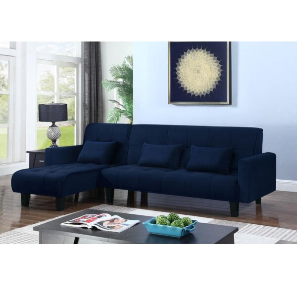 Winifred Sleeper Sectional by Mercer41
