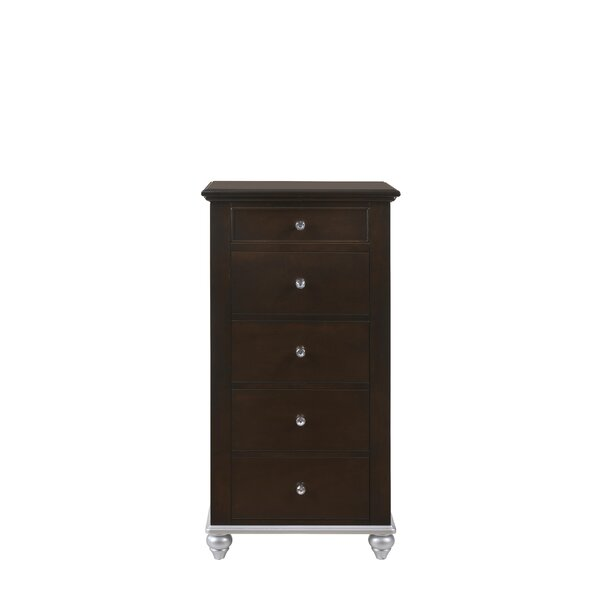 Johnny Jewelry Armoire with Mirror by House of Hampton