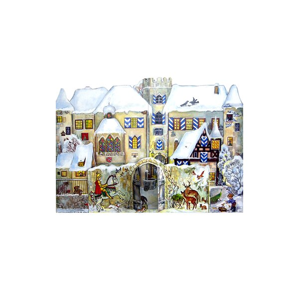 Sellmer Castle Advent Calendar by The Holiday Aisle