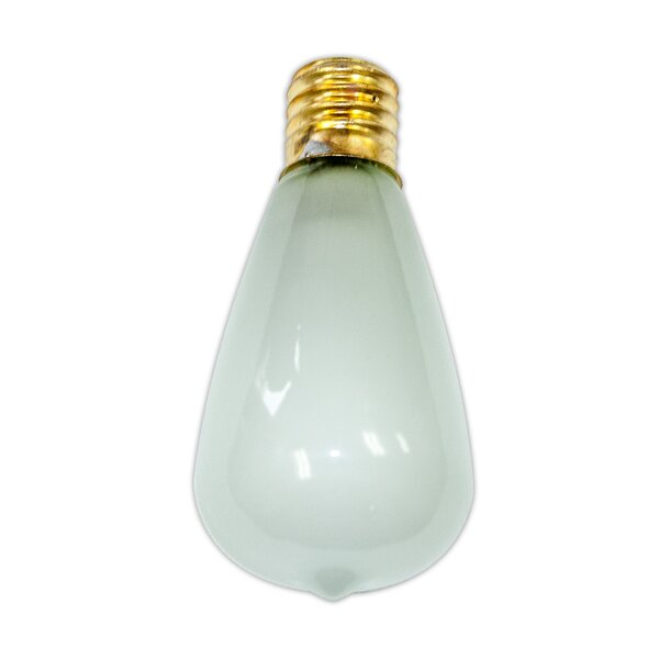 7W Frosted E26 Incandescent Vintage Filament Light Bulb by Aspen Brands