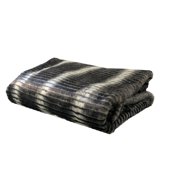 Pyle Luxury Faux Fur Throw by Everly Quinn