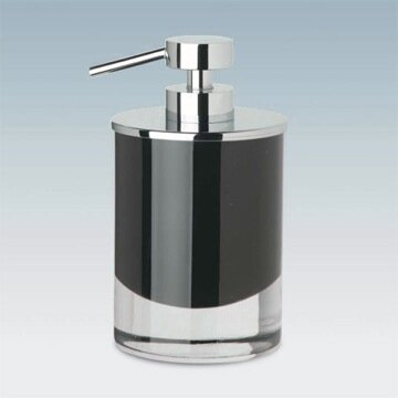 Fashion Round Crystal Glass Pump Soap Dispenser by Windisch by Nameeks